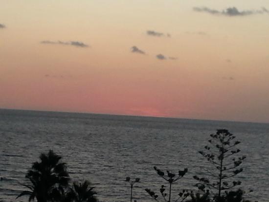 Biniamar: Room 605 beach view from balcony -  dawn