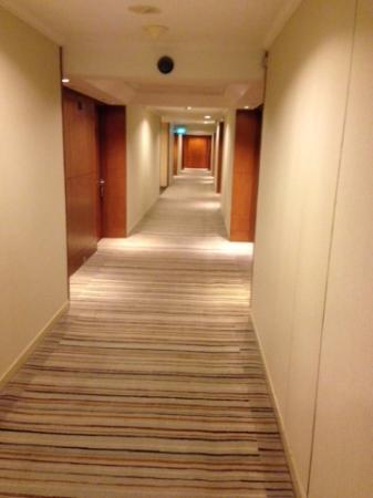 Hilton Singapore: the hallway