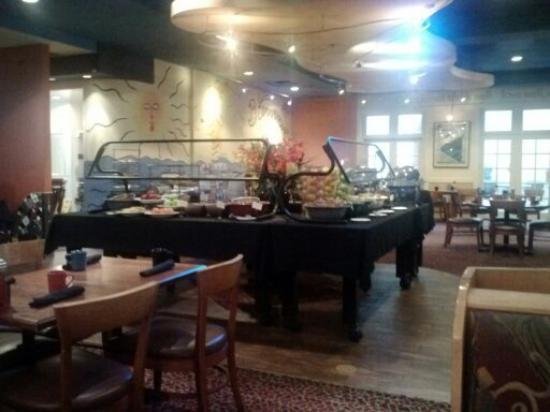 Detroit Marriott Livonia Breakfast Buffet At The Hotel Restaurant