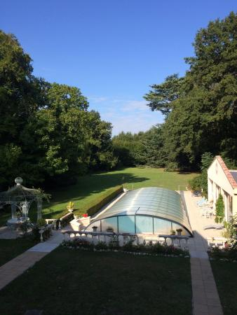 Cormeray, Frankrike: View from private terrace
