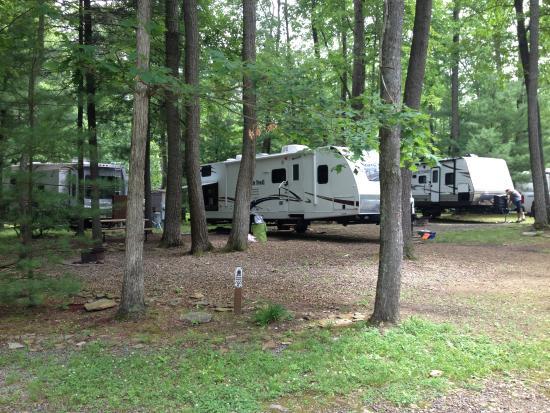 Yogi Bear's Jellystone Park: Yogi Bear Mill Run Campsites