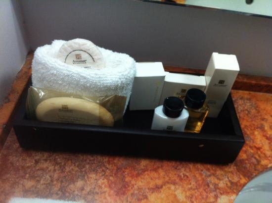 Hotel Lucerna Mexicali: Toiletries