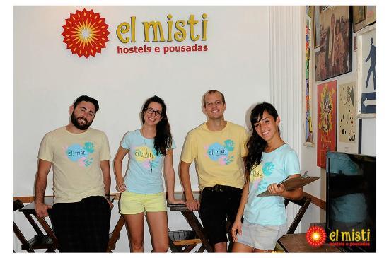 El Misti House: Our staff