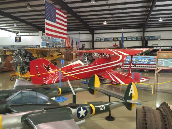 N.C. Aviation Museum: Aircraft on display
