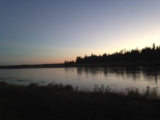 Island Park, ID: View from restaurant