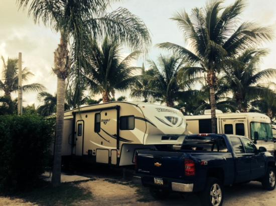 Boyd's Key West Campground: The Shaffer Temp Parking spot.