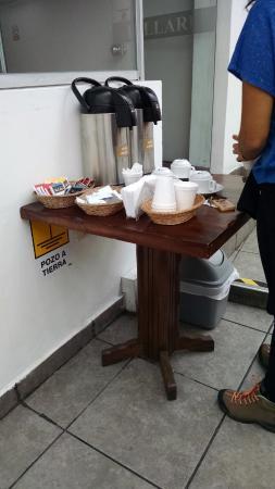 Hostal Killari : Chá e cafezinho sempre disponíveis