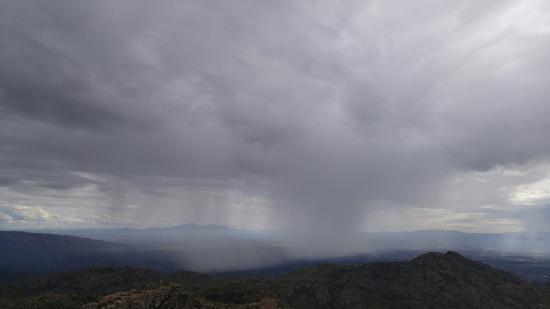 Santa Catalina Mountains: Rain