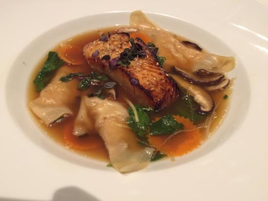 Ame : Black cod with seafood dumplings - heavenly!
