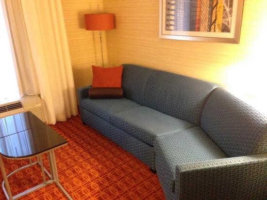 Fairfield Inn & Suites Ithaca: Seating area