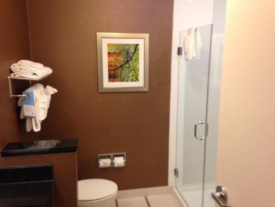 Fairfield Inn & Suites Ithaca: Bathroom