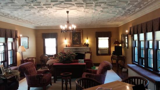 Butler House on Grand: Living Room