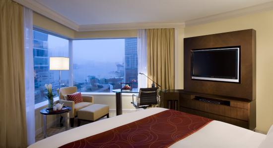 JW Marriott Hotel Hong Kong: Harbour View Room