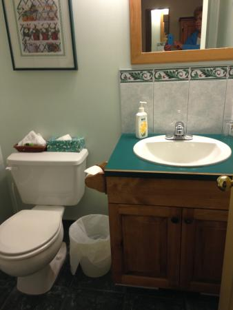Cedar Springs Bed and Breakfast Lodge: Bathroom