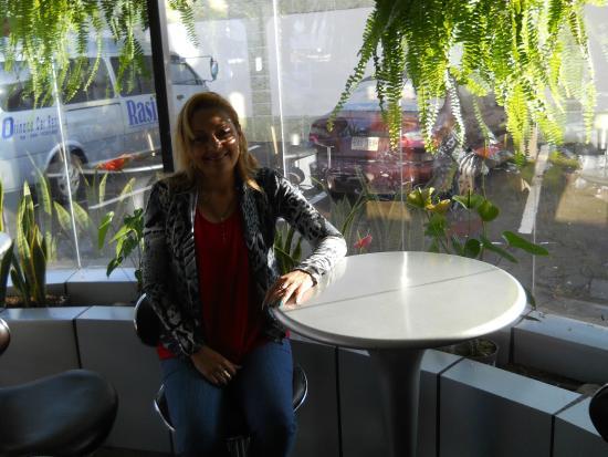 Hotel Rasil Puerto Ordaz: Acogedor el restaurante del Rasil.