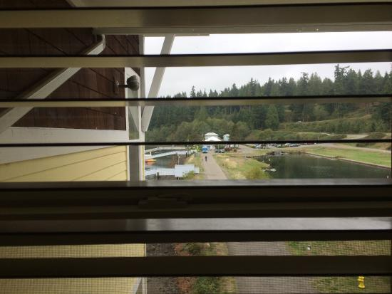 "The Resort at Port Ludlow: Our $300 a night ""spectacular view of bay and marina"""