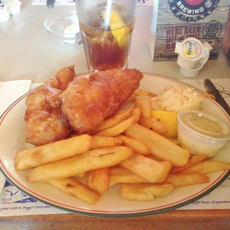 Hot, Crispy Fish and Chips