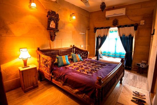 Hotel Garh Jaisal Haveli : Blue Room