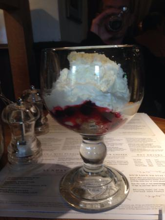 The Snow Goose: Sherry trifle