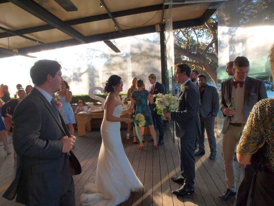 The covered deck where the ceremony was held. - Picture of The ...