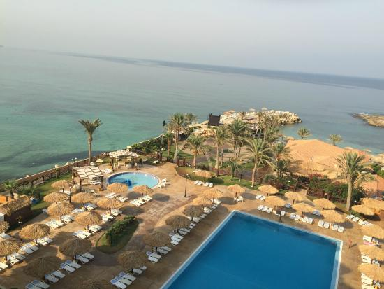 Sawary Resort & Hotel: View from the upper floor
