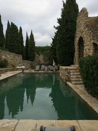 Chateau de Cassis: pool