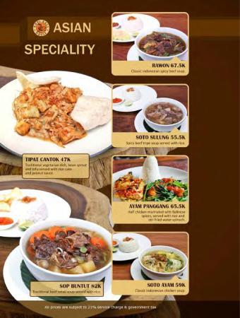 Kopi Bali House: INDONESIAN FOOD
