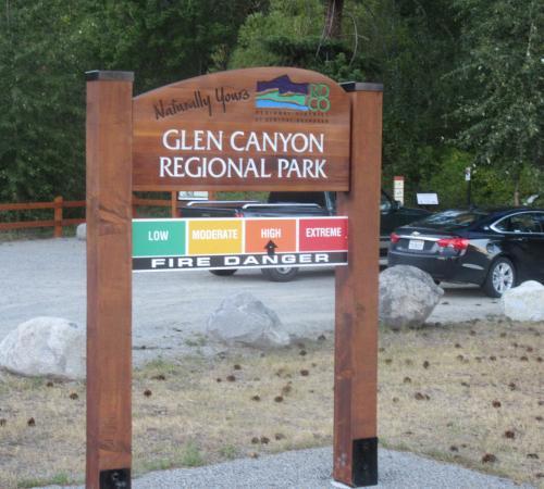 Glen Canyon Regional Park, West Kelowna, British Columbi