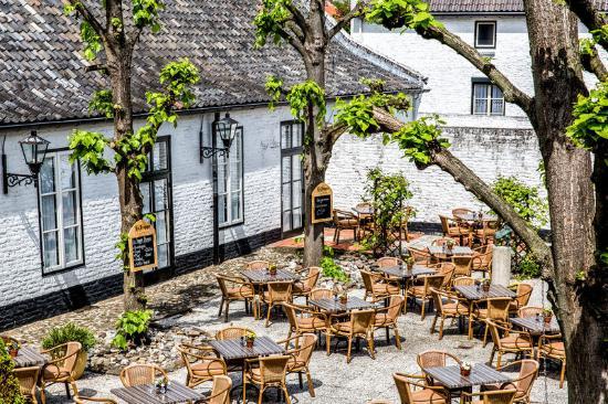 Terras La Ville Blanche - Picture of Fletcher Hotel-Restaurant La ...