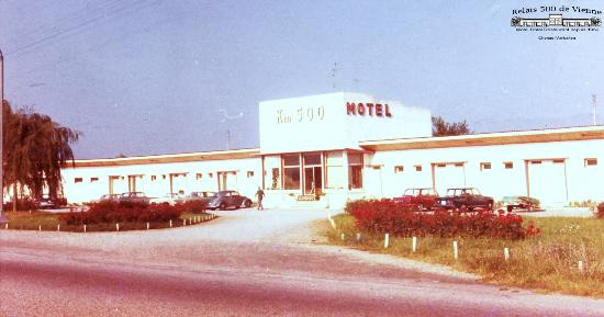 Motel 1965 picture of logis relais 500 de vienne chonas for Hotels vienne