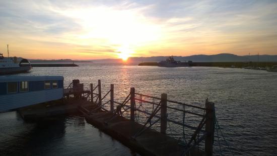 Brekstad, Noruega: Sunrise in September