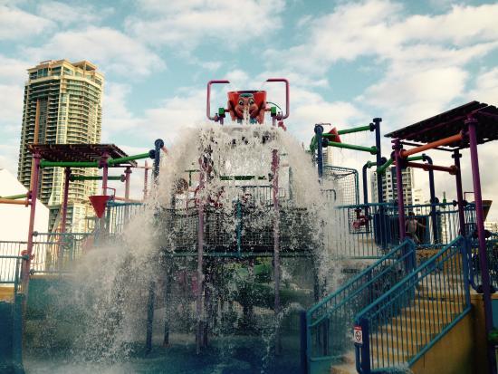 waterpark in the resort