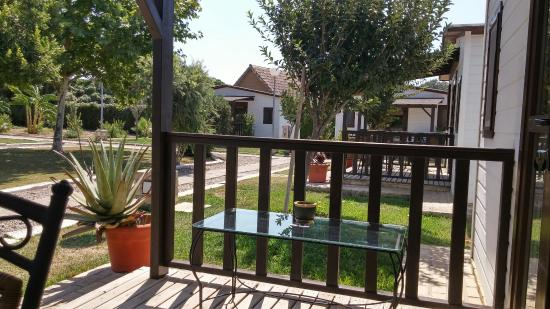 Cortijo el Caserio: Zona de bungalows