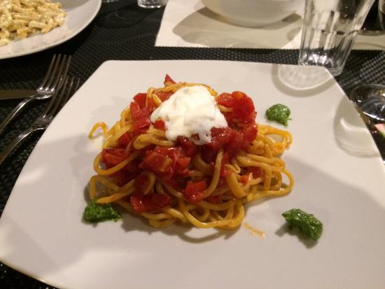 Vicchio, Ιταλία: Паста с бураттой