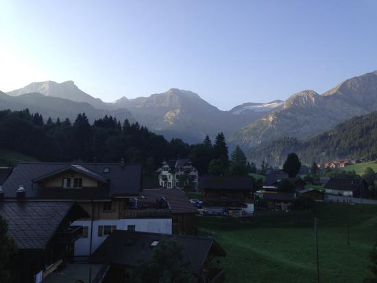 Lauenen, สวิตเซอร์แลนด์: View from our room