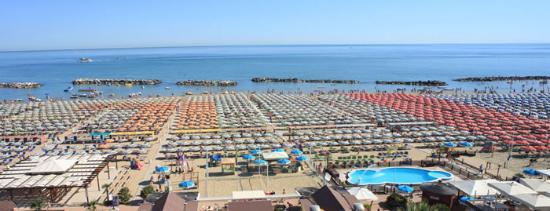 Noleggio Bagni 73 Cattolica: Strand