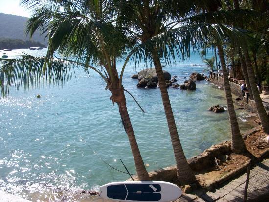 Che Lagarto Hostel Ilha Grande: Vista desde la Habitación del Hostel