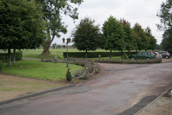 Hostellerie de la Hauquerie-Chevotel : Le parc