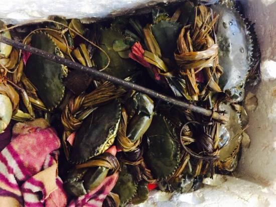 Shangyuan Shimao Grand Hotel Zhanqian Road : морские продукты в ресторане рядом