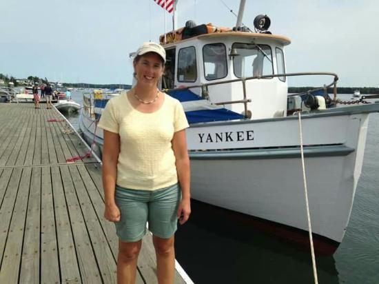 Stockton Springs, ME: M/V Yankee Stockton Harbor
