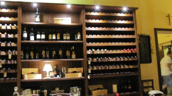 Montenero d'Orcia, Italia: Im Restaurant