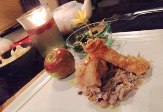 Ary's Warung: The dinner