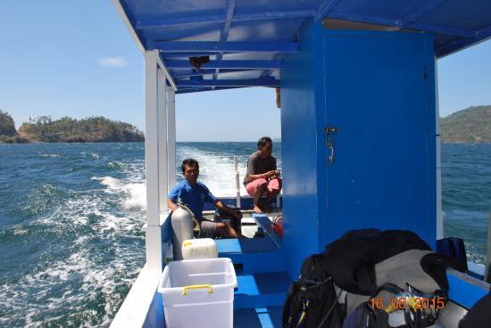 Divers Lodge Lembeh: дайверская лодка