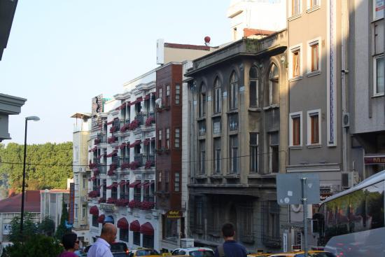 All Day Istanbul Hotel: Здание отеля