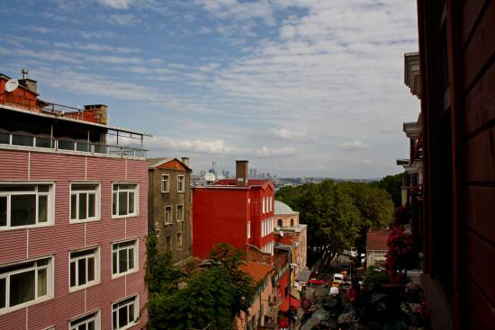 All Day Istanbul Hotel: Вид на Гюльхане