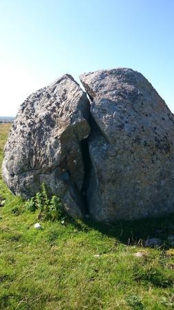 Bryne, Norge: Big stone at Haa