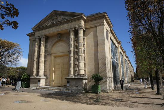 Picture of musee de l 39 orangerie paris for Jardin orangerie