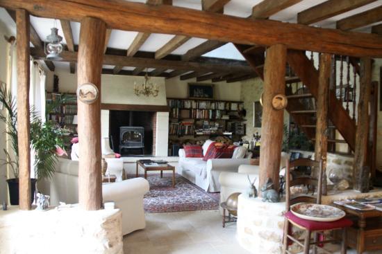 La Gaudiniere: intérieur maison