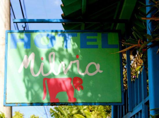 Hotel Milvia: Entrance