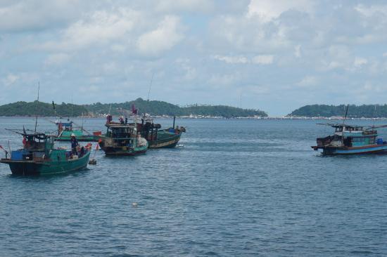 Kien Giang Province, Vietnam: Biển nhìn từ đảo chính An Sơn
